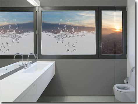 Sichtschutzfolie Fenster Wasser by Glasdekorfolie Splash Blickdicht Fensterperle De