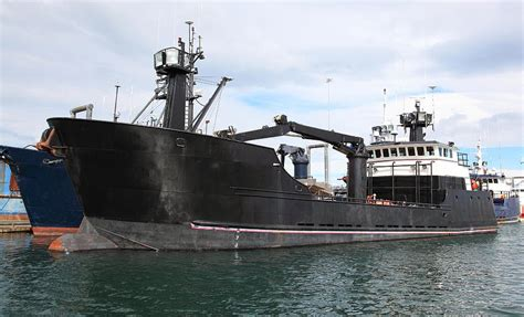 Time Bandit Boat For Sale by Bering Sea Crab Boat Photograph By Wyatt Rivard