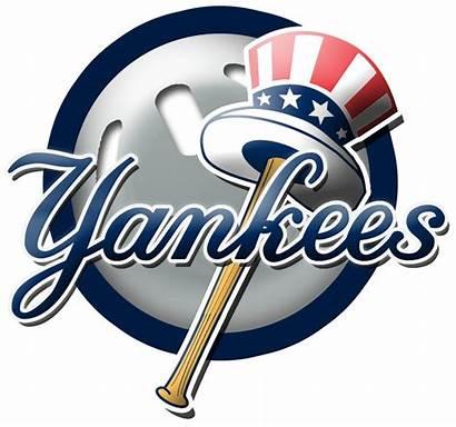 Yankees Yankee Ny York Clipart Baseball Logos