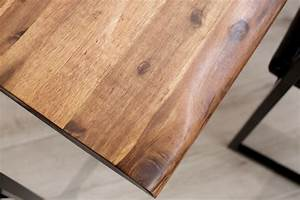 Tisch Mit Kufengestell : massiver baumstamm tisch 160cm akazie massivholz baumkante esstisch mit kufengestell industrial ~ Sanjose-hotels-ca.com Haus und Dekorationen