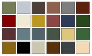 american colonial color palette for the home