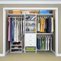 closet organizer systems Wood Closet Organizer Kit Shelving System 8 Shelves ...