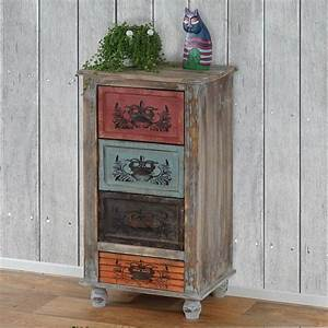 Schrank Vintage Look : kommode porto schubladenkommode telefontisch schrank shabby look vintage ebay ~ Bigdaddyawards.com Haus und Dekorationen
