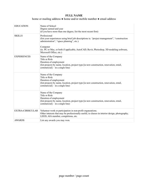 Updating Your Resume by Updating Your Resume La Femme Architecte