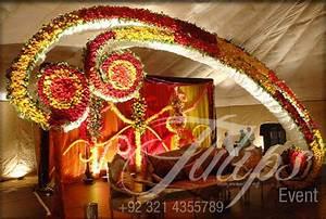 Tulips event - Best Pakistani wedding stage decoration