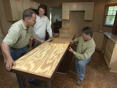 install kitchen island how to install a center kitchen island how tos diy 1881