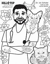 Coloring Dr Hill Sheet Scholer Hospital Animal Please sketch template