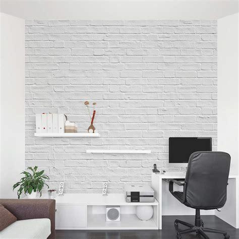 nautical bathroom ideas white brick wall mural brick wall decal wallums