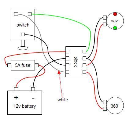 simple boat wiring 18 wiring diagram images wiring