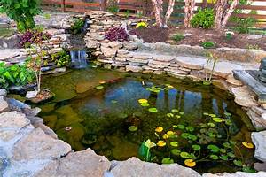 Some minimalist idea for koi pond design for Koi pond design ideas