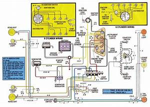 1955 Dash Wiring Diagram
