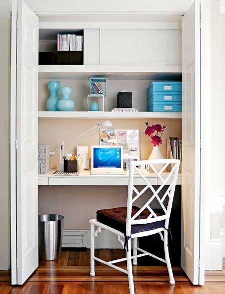 Closet Home Office Ideas