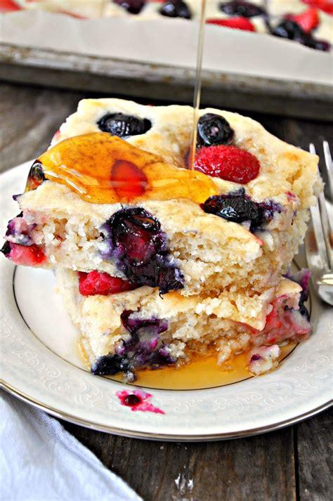 healthy vegan pancakes recipes  rock breakfast