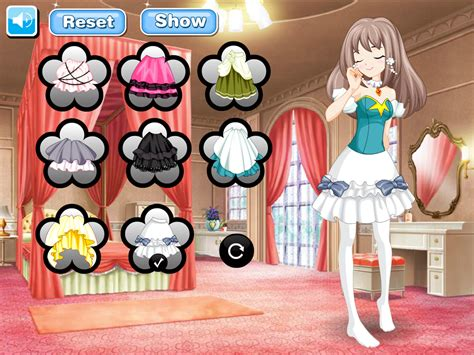 game anime android anime games flower princess android apps on google play