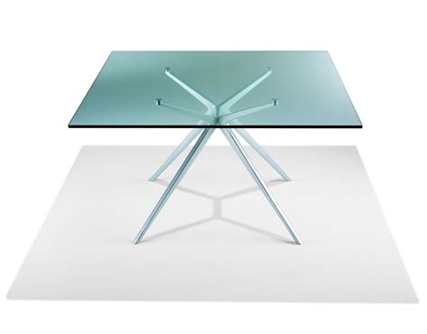 table carree 140 x 140 ex table carr 233 e en verre transparent 140 x 140 cm monbureaudesign fr
