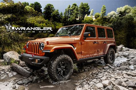 willys jeep pickup lifted 2018 jeep wrangler jl leaked in factory photos