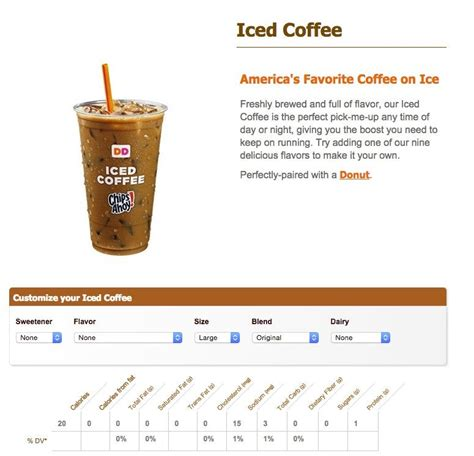 Coffee with milk and sugar dunkin donuts, iced coffee with milk and sugar (1 serving) calories: Dunkin Donuts Iced Coffee..... 3 grams of carbs? : keto