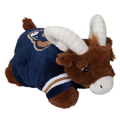 los angeles rams large  mascot pillow pet nfl