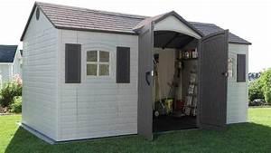 top 10 best garden sheds heavycom With big backyard sheds