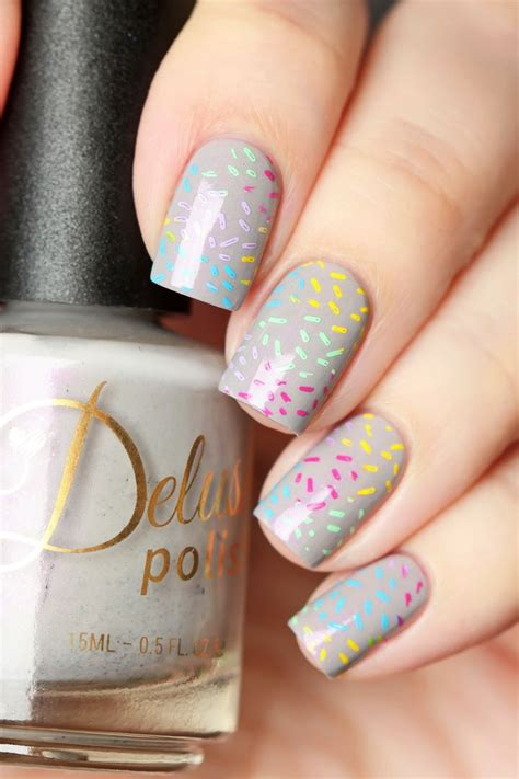 color sprinkle best 25 sprinkle nails ideas on confetti