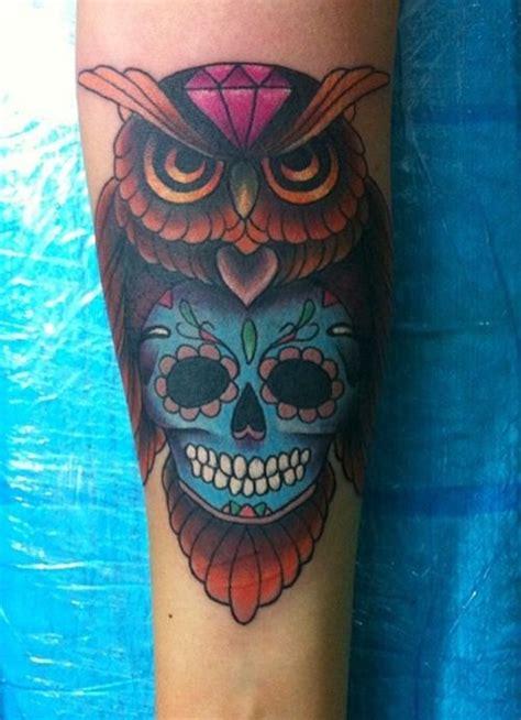 Sugar Skull Tattoos Skulls Pinterest