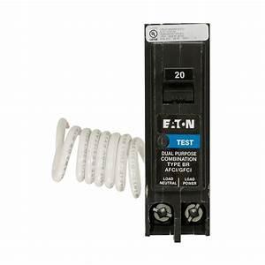 Eaton Br 20 Amp Single Ground