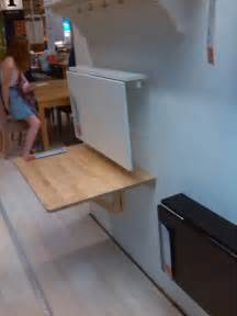 fold down table for kitchen ikea cottage exteriors