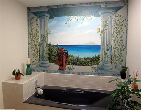 bathroom mural ideas bathroom wallpaper murals acehighwine com
