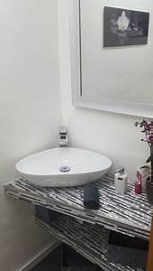 Bauhaus Gäste Wc Waschbecken : kleine g ste wc sanieren bathroom pinterest ~ Markanthonyermac.com Haus und Dekorationen