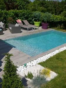 photos decoration de piscine rectangulaire 6 x 3 m plage With superb amenagement jardin autour piscine 3 nos realisations de jardin et amenagement dexterieur en