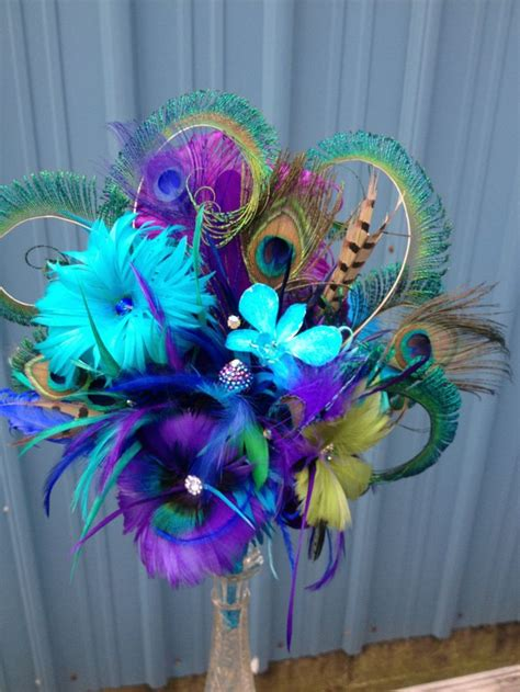 22 Best Peacock Quinceanera Theme Images On Pinterest