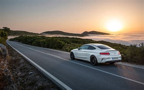 Mercedes C Class Coupe 4k Wallpapers by 2016 Mercedes Amg C 63 S Coupe Static 6 1920x1200