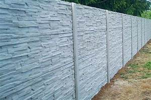 Betonové plotové dílce ceník