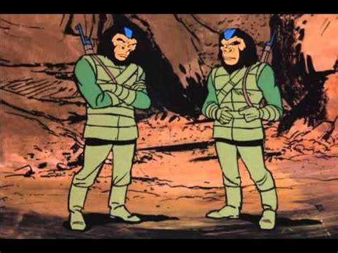 de volta ao planeta dos macacos desenho ep 07 dublado youtube