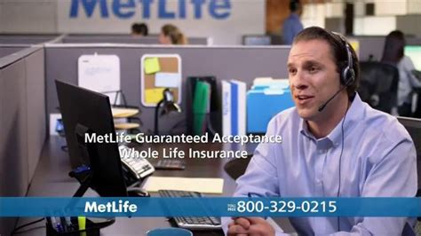 metlife guaranteed acceptance  life insurance tv spot