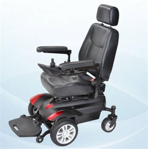 titan front wheel drive power wheelchair