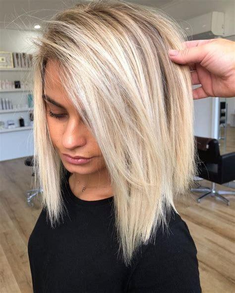 stunning long bob haircut  layers