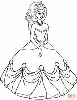 Princess Coloring Pages Ball Disney Printable Gown Drawing Medieval Gowns Getdrawings Colouring Princesses Games Awesome Paper Prints Albanysinsanity sketch template