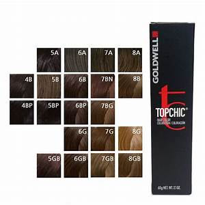 11 99 Goldwell Topchic Permanent Hair Color Tubes 2 1