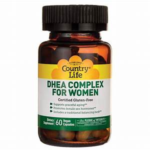 Country Life Dhea Complex For Women 60 Vegan Caps