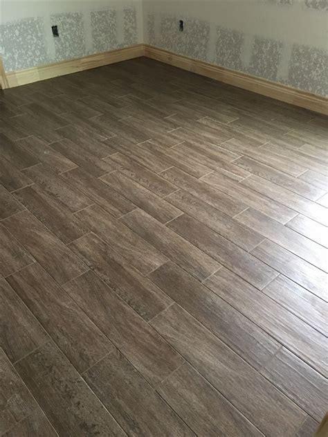 Emser Woodwork Eugene 6 x 24 w/ Texrite Chromaflex Grout