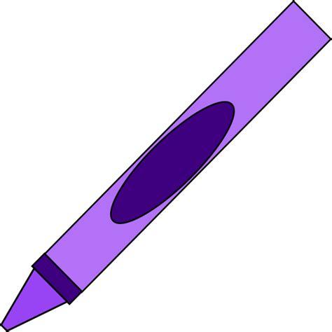 purple crayon clipart purple crayon clip at clker vector clip