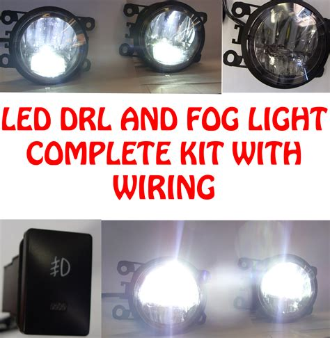 fog light installation shop high power led drl and fog lights wiring and switch for
