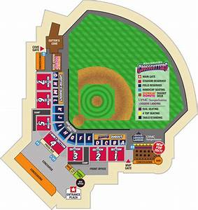 Seating Map Williamsport Crosscutters Tickets