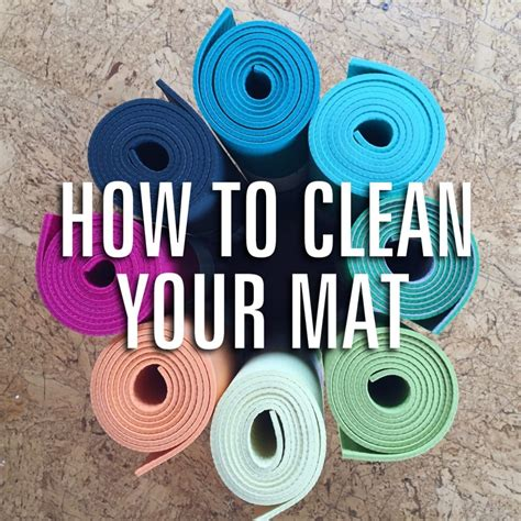 how to clean your mat give your mat a bath funky buddha