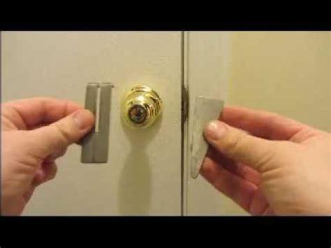 homemade portable door lock ez simple youtube