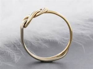 solid old climbing knot double figure 8 ring alternative With wedding rings for rock climbers