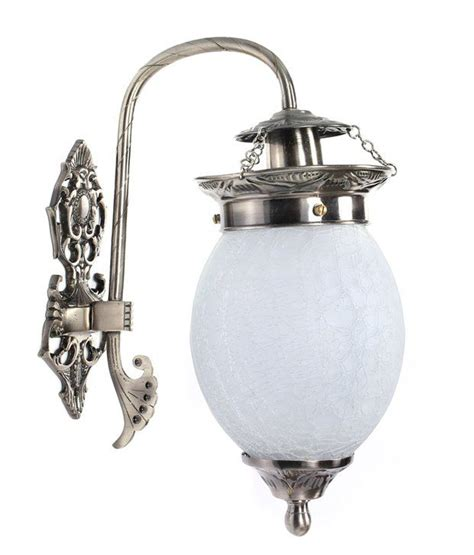 fos lighting silver antique handcrafted wall light buy