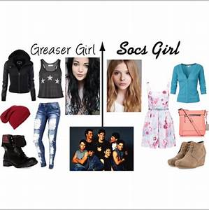Greasers vs. Socs. | The Outsiders | Pinterest | Greaser ...