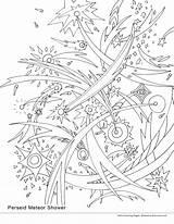 Coloring Meteor Shower Pages Missions Space 3300px 33kb 1522 2550 Perseid Drawings Getdrawings Smirnova Ekaterina Getcolorings August sketch template